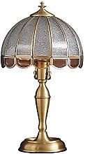 European Luxury Bedside Lighting H65 Brass Table