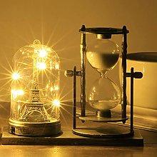 European Retro Hourglass, Rotating Sand Hourglass,