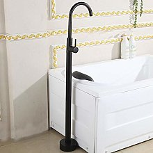 European-Style Bathtub Floor-Mounted hot and Cold
