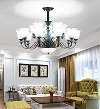 European Style Chandelier Modern Minimalist Living