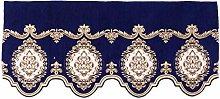 European Style Exquisite Embroidery Pelmet for