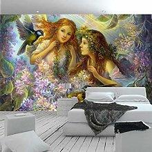 European Style Fantasy Angel Oil Painting