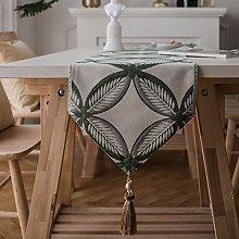 European Style Jacquard Table Runner Waterproof