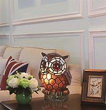 European Style Lovely Creative Coffee Owl Table