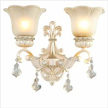 European Style Resin Wall lamp Hall Stairs Antique