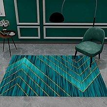 European-Style Simple Geometric Rectangular Desk