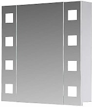 Eurosan 1 Door Mirror Cabinet Super Flat Built-In