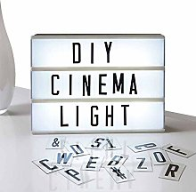 Eutuxia Cinema Light Box with Decorative 60