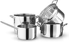 Eva Solo - Four Parts Stainless Steel Cookware Set