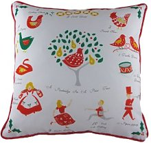 Evans Lichfield Sue Fenlon Village Green Cushion,