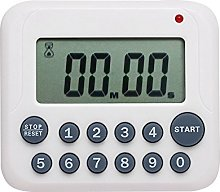 Evany Digital Kitchen Timer Magnetic Countdown Up