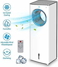 Evaporative Air Cooler - 2-In-1 Portable Air
