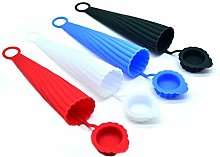Evelure Ice Pop Mould Packs of 4, Silicone Pop