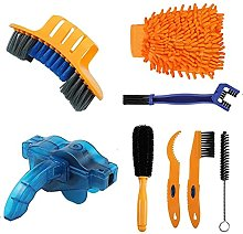 Evenlyao 8 Pcs Bike Cleaning Tools Set With