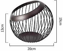 Evenlyao Metal Wire Fruit Basket Countertop Fruit