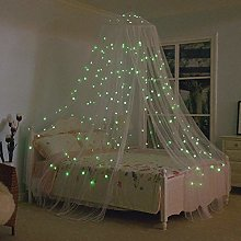 Evenlyao Mosquito Net Bed Canopy Star Lights Baby