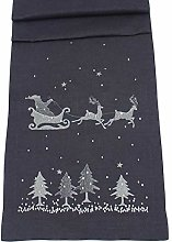 Eventide Christmas Santa/Woodland Table Runner