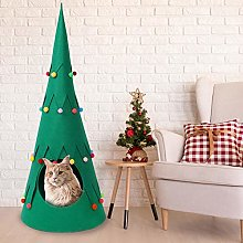 evergreemi Pet Teepee Pet Tent House For Dogs