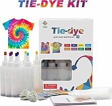 evergreemi Tie-dye DIY Kit, Fabric Dye Kit For