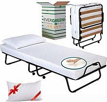 EVERGREENWEB Folding Bed Base, Guest Bed Frame,
