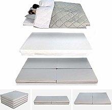 Evergreenweb Futon Folding Mattress, Pouf Mattress