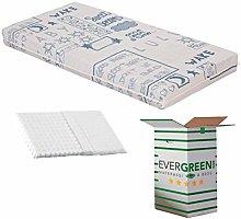 EVERGREENWEB - Mattress for Children 60 x 120 cm