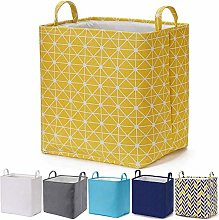 Every Deco Rectangular Storage Bin Laundry Basket