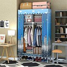 EVFIT Foldable Closet Portable Corner Clothes