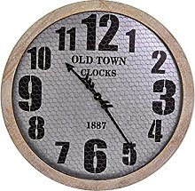 EVOM Large wall clock, country style