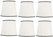 EVTSCAN 6Pcs Modern Fabric Lampshade Light Cover