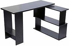 EVTSCAN Computer Desk, Folding Corner Computer