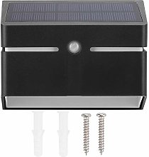 EVTSCAN Waterproof Wall Lamp, Waterproof LED Solar