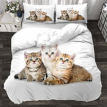 Evvaceo Child Bedding Set Duvet Cover And