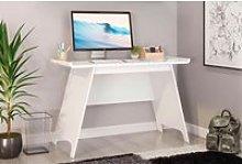 Ewing Trestle Home Office Desk (White)
