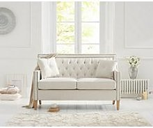 Ex-display Chatsworth Chesterfield Ivory Linen 2