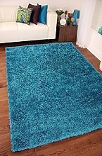Ex-Large Small Size Thick Plain Soft Shaggy Rug