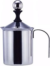 exari Stainless steel manual milk frother, manual