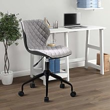 ExBrite Desk Chair for Home Adjustable Height