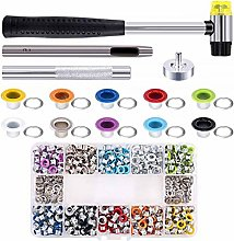 EXCEART 1 Box Eyelets Grommets Kit Replacement
