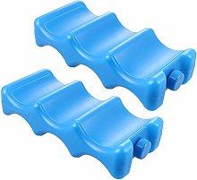 EXCEART 2pcs Breastmilk Ice Packs Reusable Breast