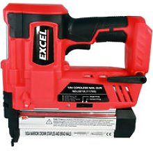 Excel 18V Cordless 2nd Fix Nailer Body Only