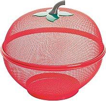 Excelsa Apple Fruit Basket, Steel,
