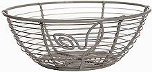 Excelsa Basket, Metal Grey