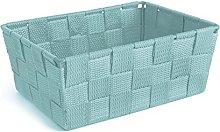 Excelsa Basket, Polypropylene, Blue, 21 x 16 x 8.5
