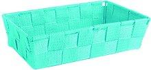Excelsa Basket, Polypropylene Blue, 22.5 x 15.5 x