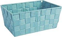 Excelsa Basket, Polypropylene Blue, 25 x 17.5 x 11