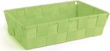 Excelsa Basket, Polypropylene, Green, 22.5 x 15.5