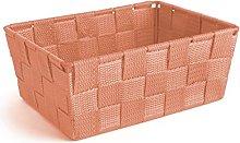 Excelsa Basket, Polypropylene Orange, 21 x 16 x