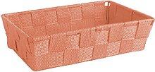 Excelsa Basket, Polypropylene, Orange, 22.5 x 15.5