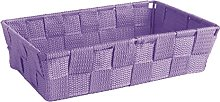 Excelsa Basket, Polypropylene, Purple, 22.5 x 15.5